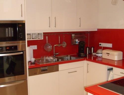 Küche Rot